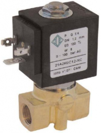 """Электромагнитный клапан 21A2KOC12-XC (G1/4"""")"""