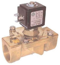 """Электромагнитный клапан 21HF7KOB350 G1 1/4"""""""