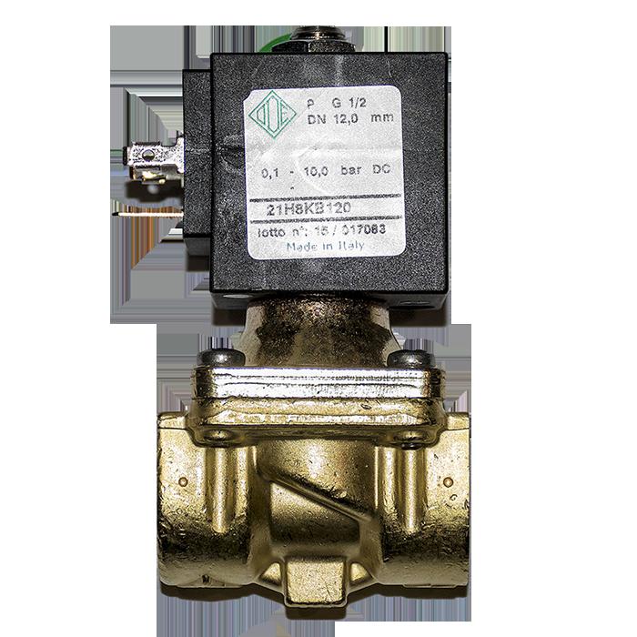 ecd45d30b67 Клапан электромагнитный ODE 21H8KB120 нормально закрытый купить по ...
